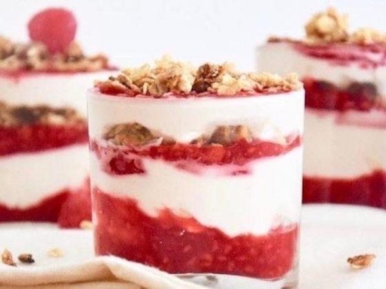 Cranachan dessert