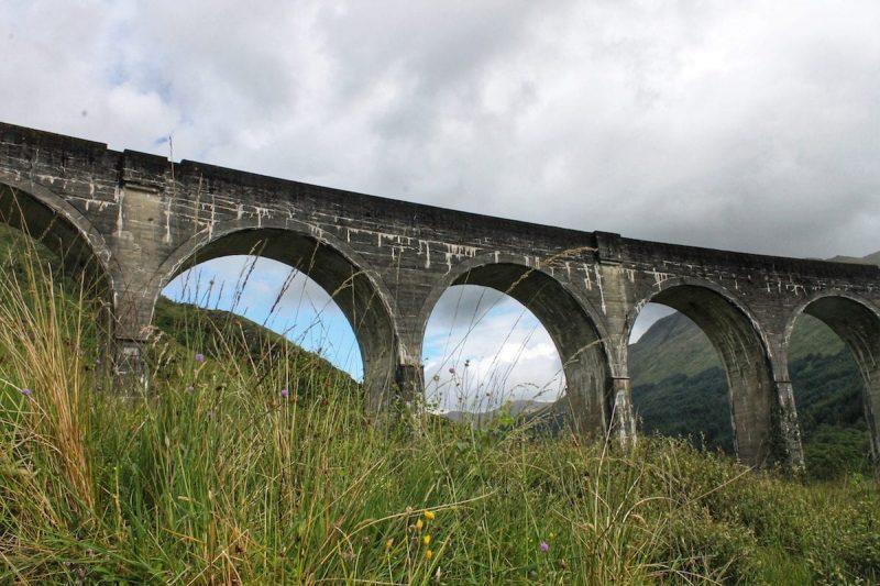 Glenfinnan Viadotto Scozia