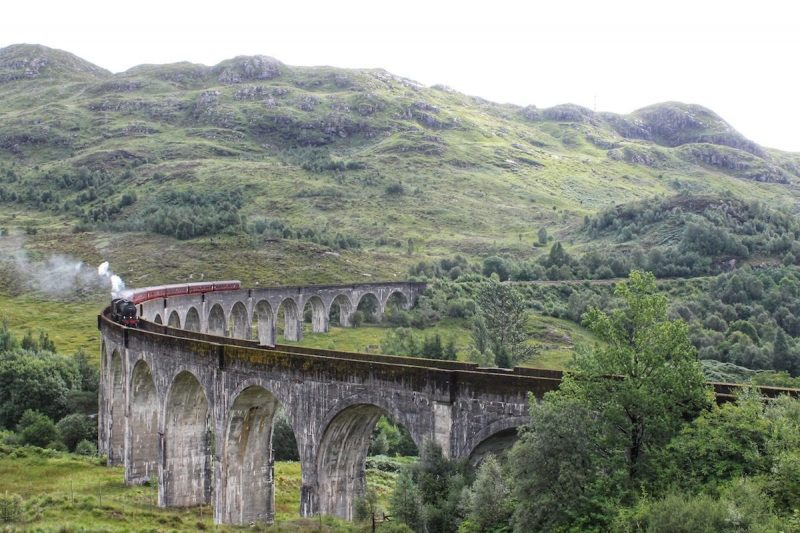 Glenfinnan viadotto Harry Potter