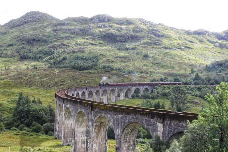 Il viadotto di Glenfinnan