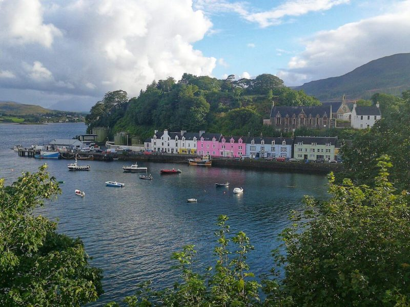 Portree Harbour Skye