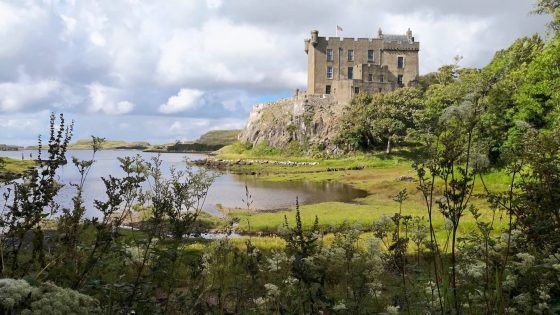 Dunvengan Castle Skye