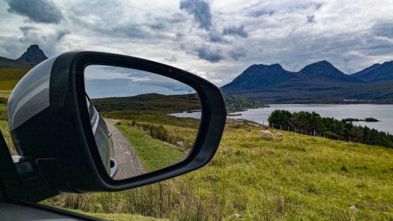 Guidare auto in Scozia