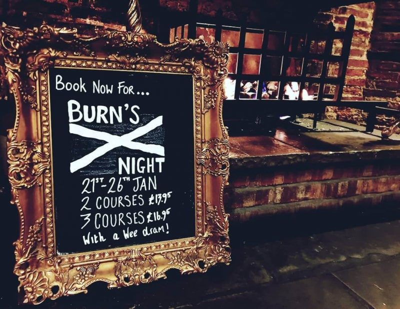 Burn's Night Edinburgh