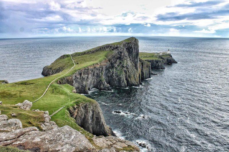 Faro di Neist Point sull'Isola di Skye