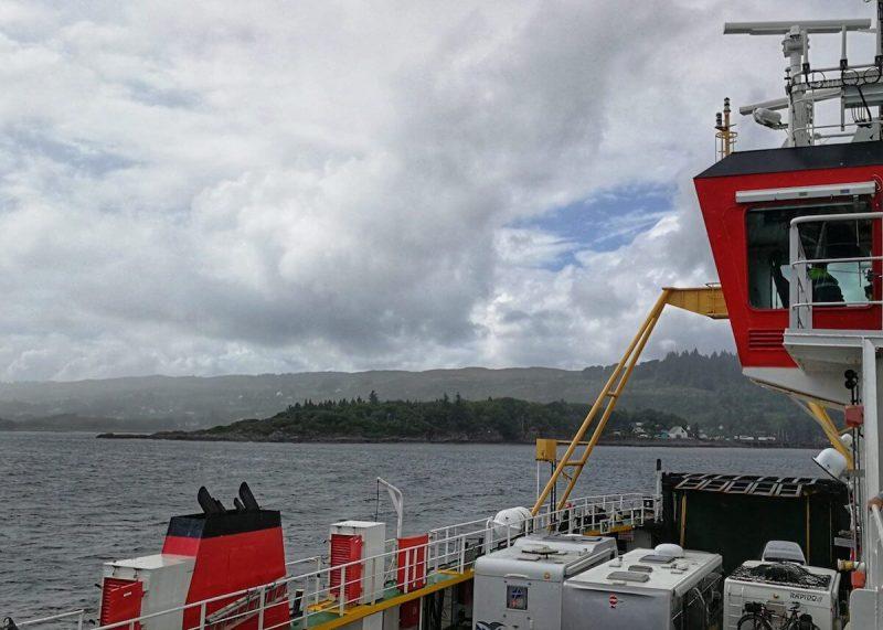 Isola Skye traghetto