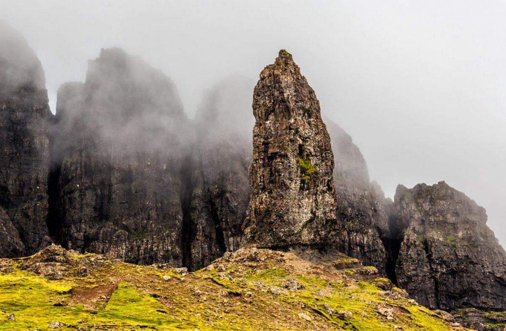 Isola di Skye i pinnacoli dello Storr