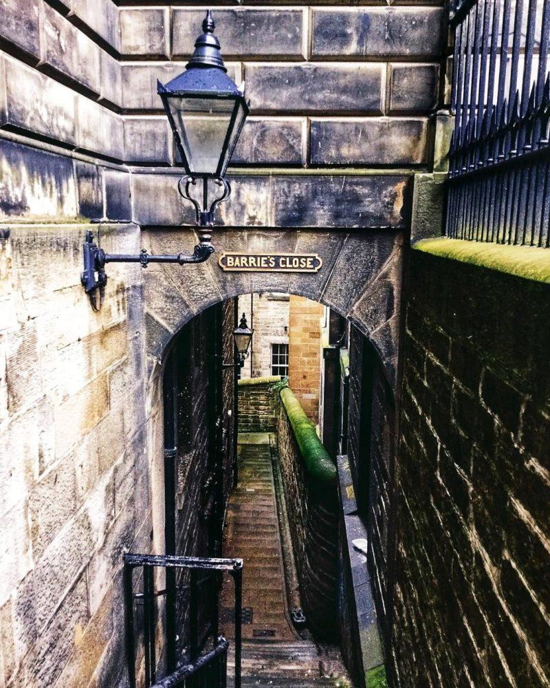 Barrie's Close Edimburgo