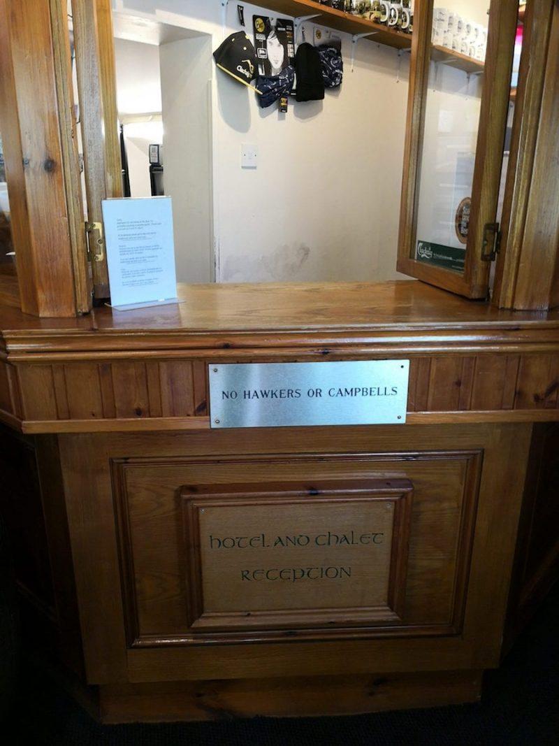 Clachaig Inn No Campbell