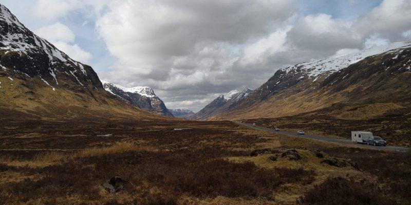 Glencoe Highlands montagne