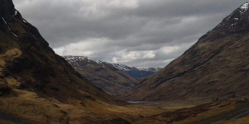 Glencoe paesaggio