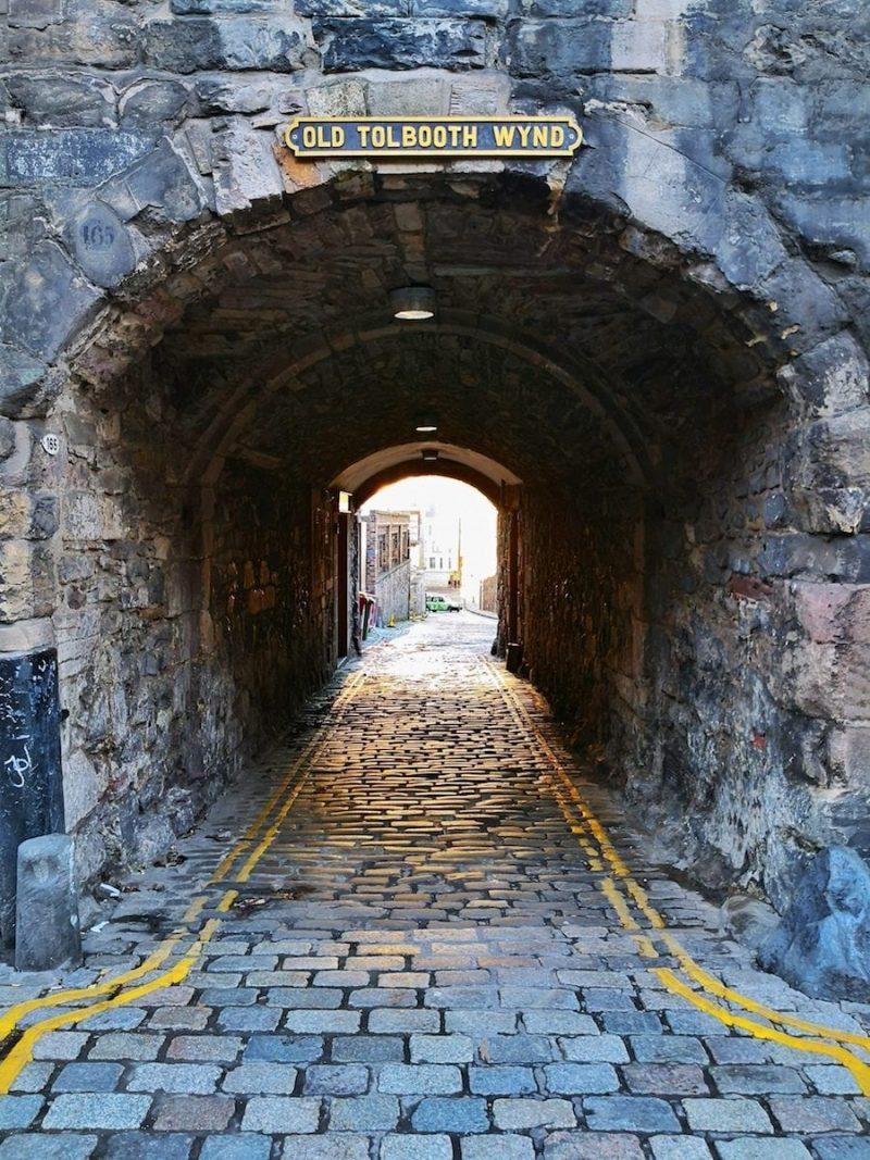 Old Tolbooth Wynd Edimburgo