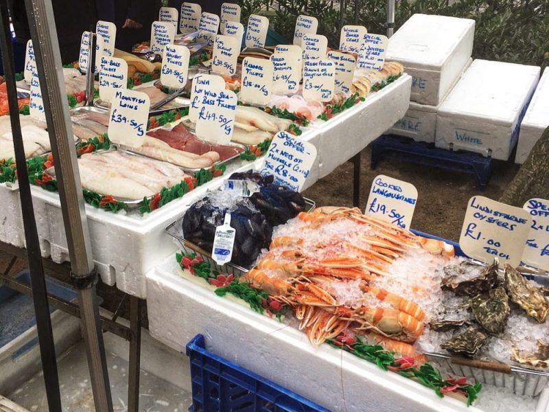 Stockbridge Market Fish