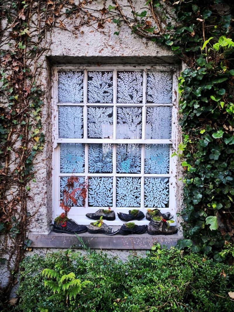 White Horse Close finestra