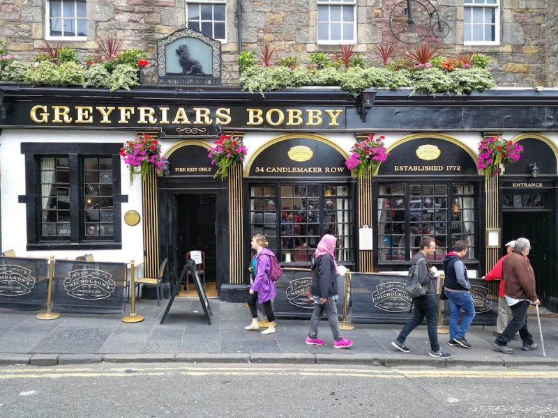 Greyfriars Bobby Pub Edinburgh
