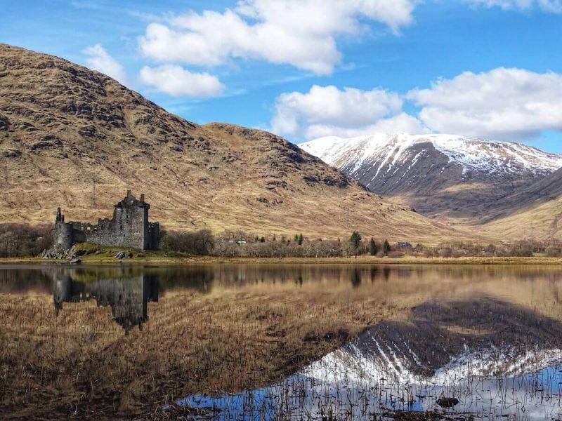 Kilchrn Castle castello