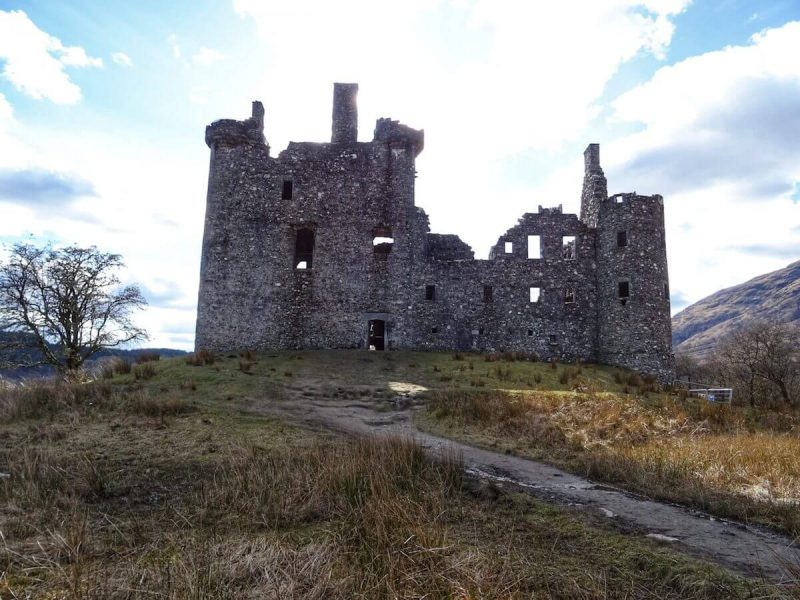 Kilchurn Castle Facciata