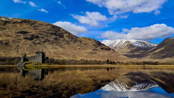 Kilchurn Castle view