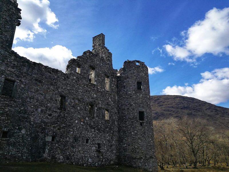 Kilchurn Castle esterno