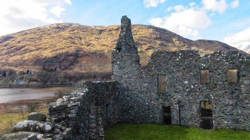 Kilchurn Castle interno