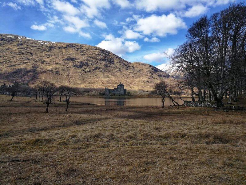 Kilchurn Castle paesaggi