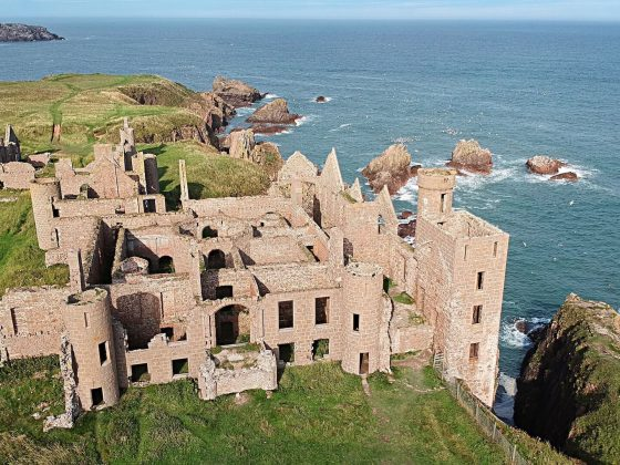 New Slains Castle Scozia