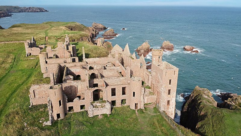 New Slains Castle Scozia