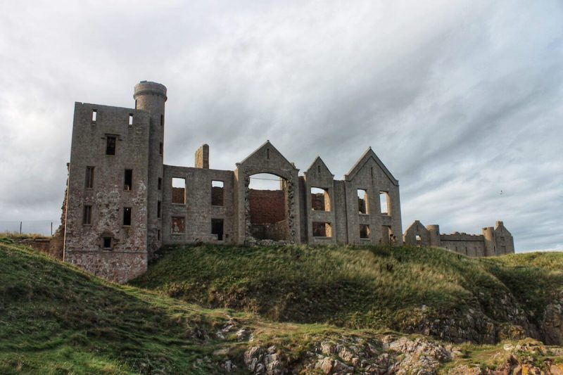 New Slains Castle panoramica