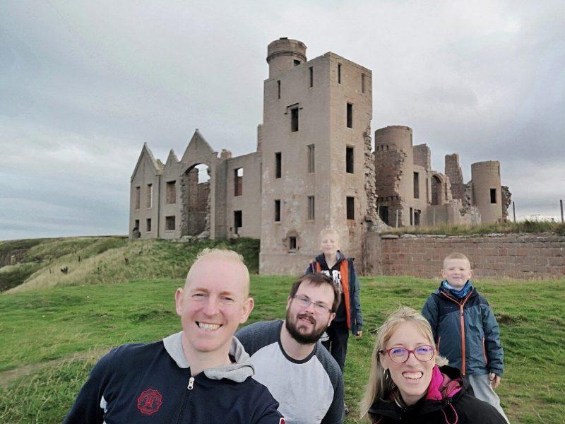 New Slains Castle