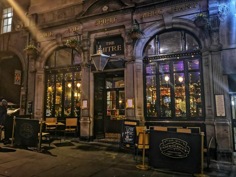 The Mitre Bar Edinburgh
