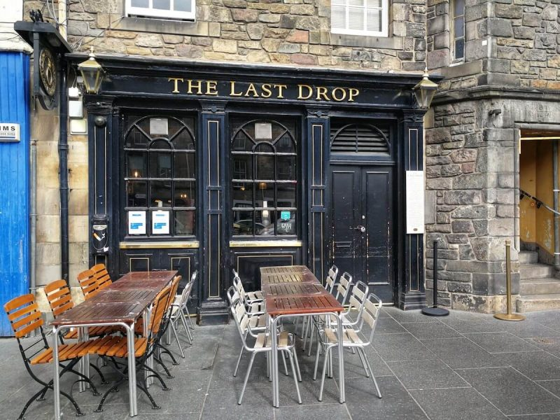 The last drop Edimburgo
