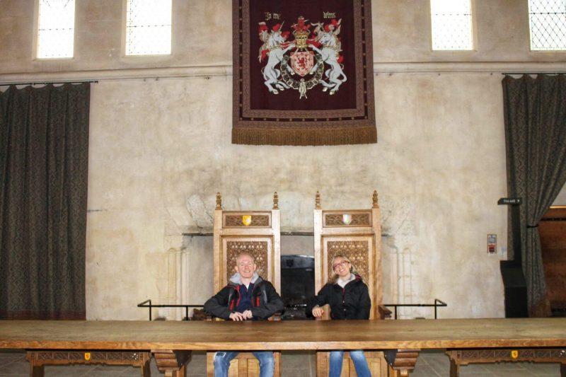 Stirling Castle trono