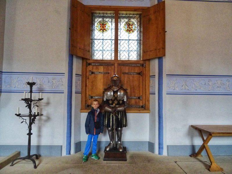 Stirling Castle inside room