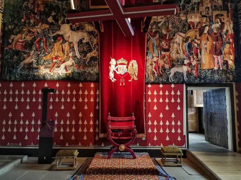 Stirling Castle inside