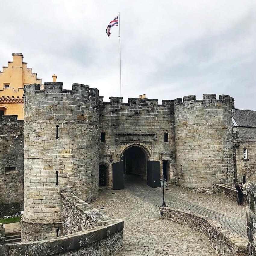 Stirling Castle Scozia