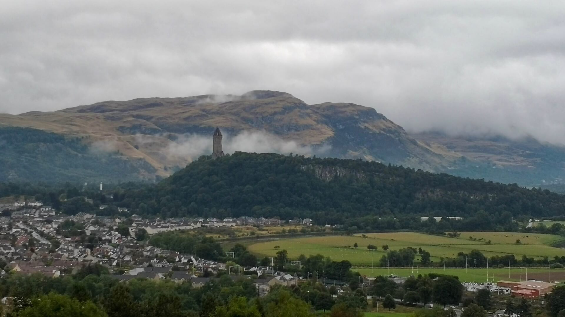 Wallace Monument panorama