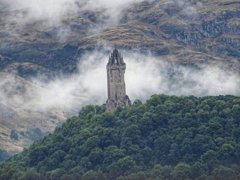 Wallace Monument Scozia