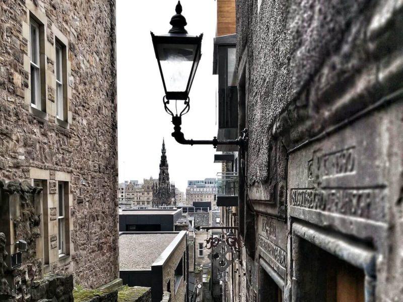 Advocate's Close Leggende Edimburgo