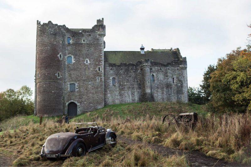 Doun Castle Outlander