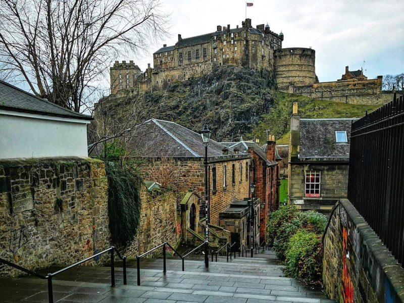Castello Edimburgo Leggende