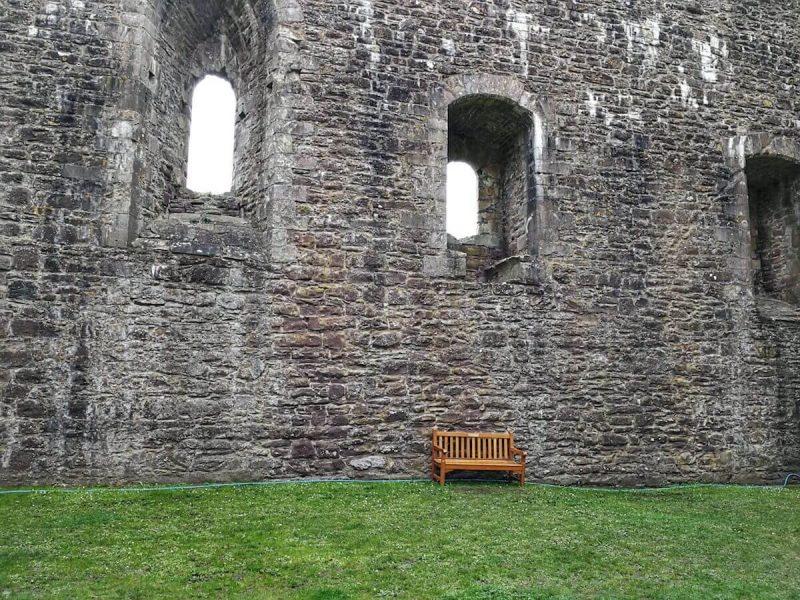 Doune Castle Cortile