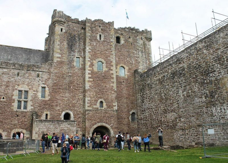 Doune castle Gate Tower