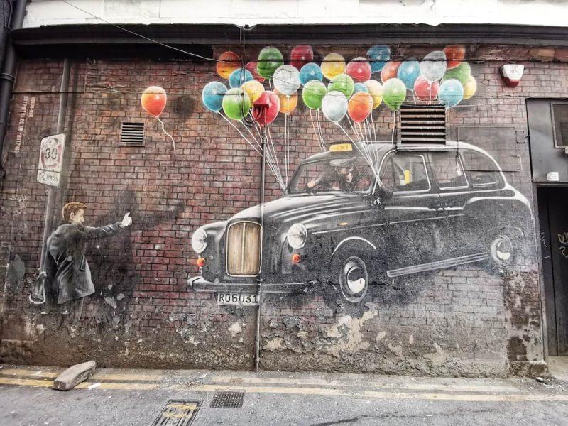 Murales palloncini
