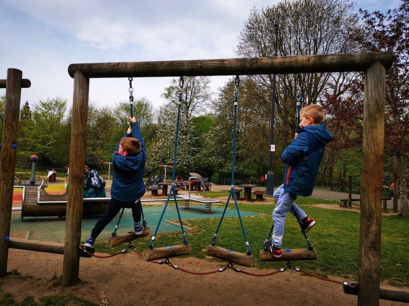 Kelvingrove Park Glasgow bambini