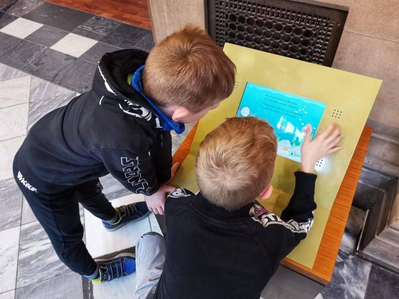 Kelvingrove museum Glasgow bambini