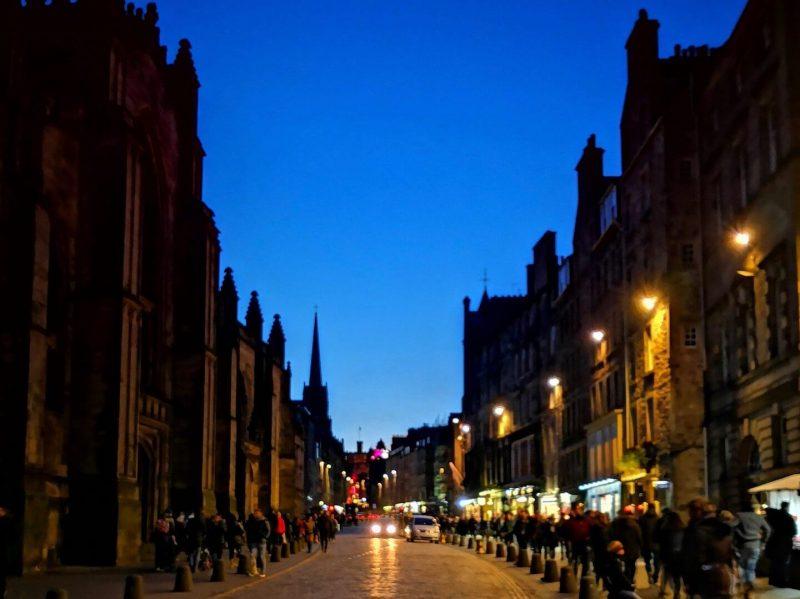 Leggende Edimburgo Royal Mile