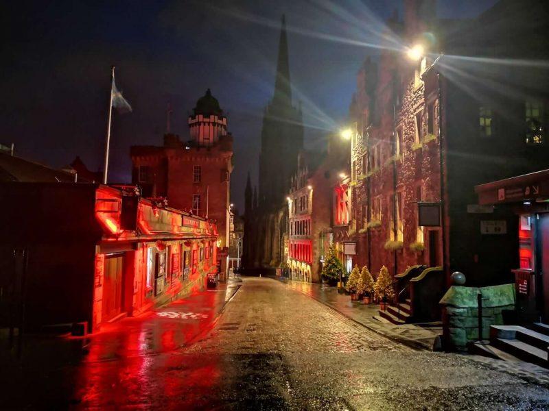 Leggende misteri fantasmi Edimburgoo
