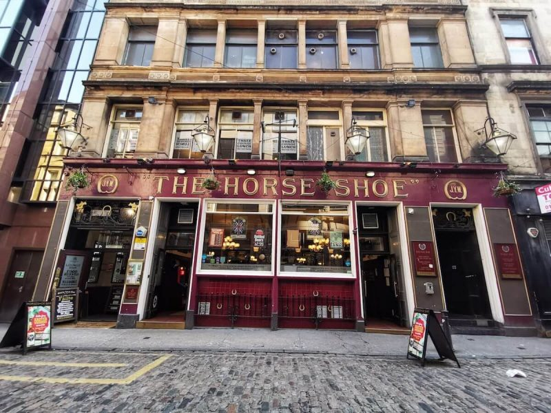 The Horse Shoes Bar Glasgow