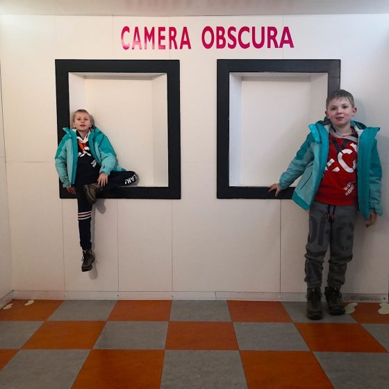 Camera Obscura Edimburgo