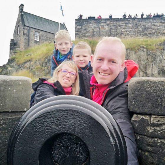 Edinburgh Castle Scozia